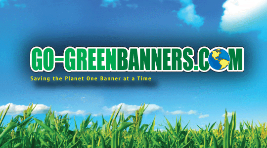 Go-Green Banners